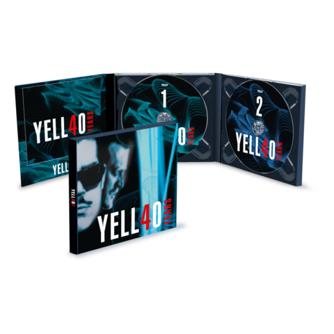 4O YEARS (2CD) by Yello - 2CD - shop now at Yello store