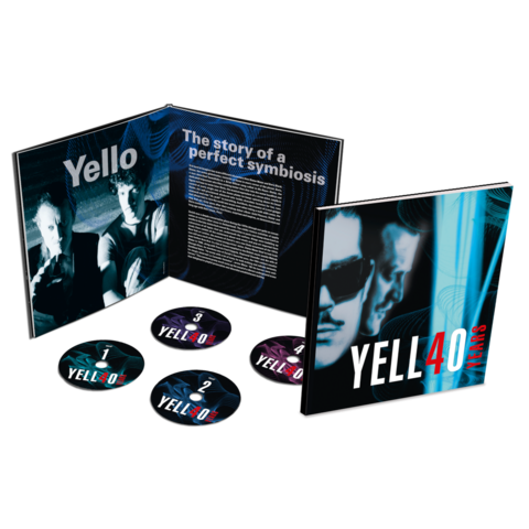 4O YEARS (Ltd. Earbook 4CD) by Yello -  - shop now at Yello store