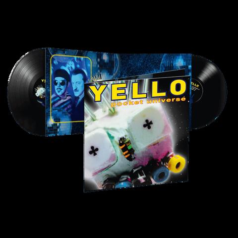 Pocket Universe (Ltd. Reissue 2LP) by Yello - 2LP - shop now at Yello store