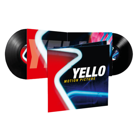 Motion Picture (Ltd. Reissue 2LP) by Yello - 2LP - shop now at Yello store