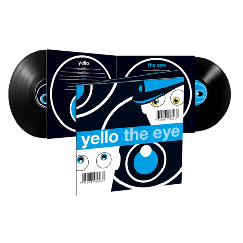The Eye (Ltd. Reissue 2LP) by Yello - 2LP - shop now at Yello store